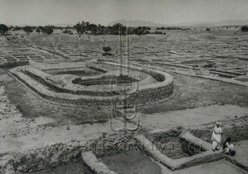Ruins of Taxila, photogravure circa 1927