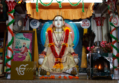 Idol of Baba Sri Chand, Brahmboota Udasin Akhara, Amritsar